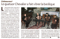 Article de l'Echo du Berry